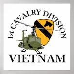1st Cav Vietnam Vet Print