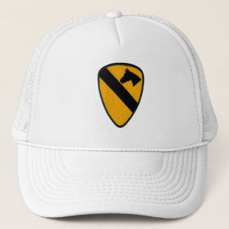 1st Cavalry Army Patch on Hat