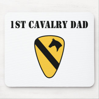 1st Cavalry Dad Mouse Pad