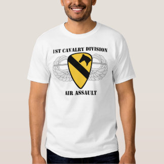 1st Cavalry Division Air Assault - With Text Tshirt