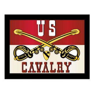 1st CAVALRY DIVISION Banner Postcards