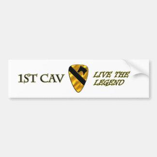1st Cavalry Division Bumper Stickers