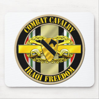 1st Cavalry Division Cavalry Scout OIF Mousepad