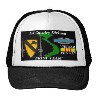 "1st Cavalry Division""First Team"" Vietnam Ball Caps Cap"