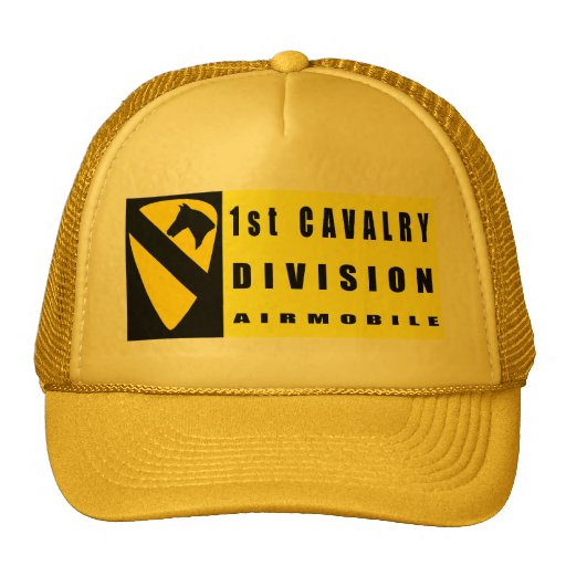 1st CAVALRY DIVISION Mesh Hat