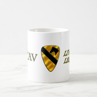 1st Cavalry Division Live the Legend Coffee Mug