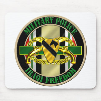 1st Cavalry Division Military Police OIF Mouse Pad
