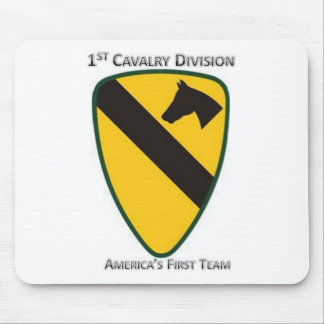 1st Cavalry Division Mouse Pad
