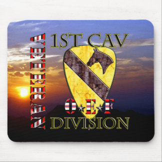 1st Cavalry Division OEF Veteran Mouse Pad