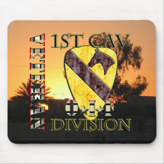 1st Cavalry Division OIF Veteran Mouse Pad