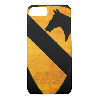 1st Cavalry Division Patch Worn iPhone 8/7 Case