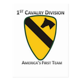 1st Cavalry Division Post Card