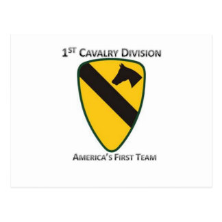 1st Cavalry Division Postcards