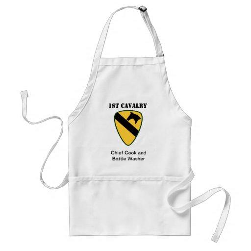 1st Cavalry Division Standard Apron