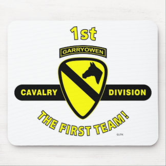 "1ST CAVALRY DIVISION ""THE FIRST TEAM"" MOUSE PAD"