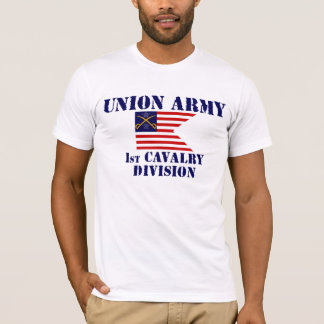 1st Cavalry Division, Union Army Civil War T-shirt