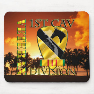 1st Cavalry Division Vietnam Veteran Mouse Pads