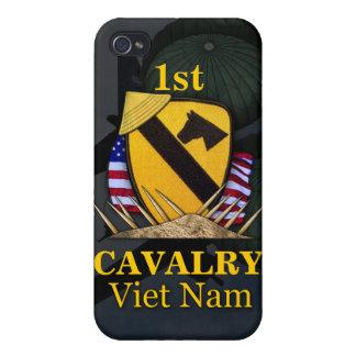 1st cavalry division vietnam veterans i iPhone 4 cover