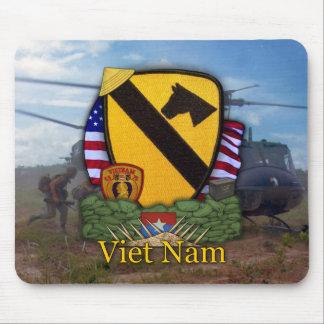 1st cavalry division vietnam veterans vets Mousepa Mousepad