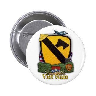 1st cavalry division vietnam vets war Button