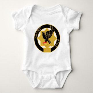 1st Cavalry Regiment - Coat Of Arms Baby Bodysuit