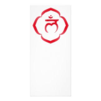 1st Chakra (the root chakra) Custom Rack Card