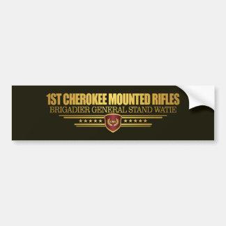 1st Cherokee Mounted Rifles Bumper Sticker