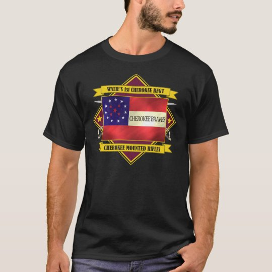 1st Cherokee (Watie's Mounted Rifles) T-Shirt