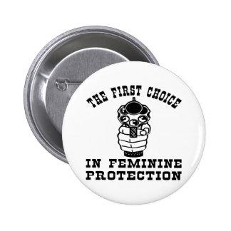 1st Choice In Feminie Protection, A Gun Pins