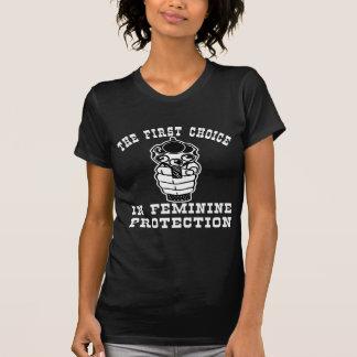 1st Choice In Feminie Protection, A Gun Tee Shirt