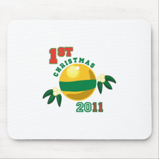 1st Christmas 2011 Mouse Pads