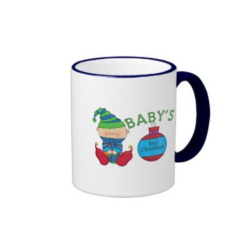 1st Christmas Elf Tshirts and Gifts Mug