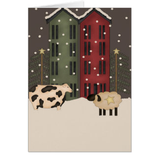 1st Christmas in New Home Card