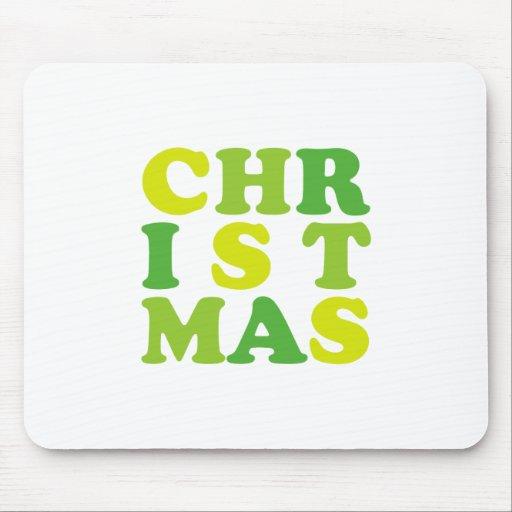 1st christmas mousepad