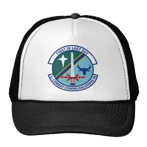 1st Combat Communications Squadron Trucker Hats