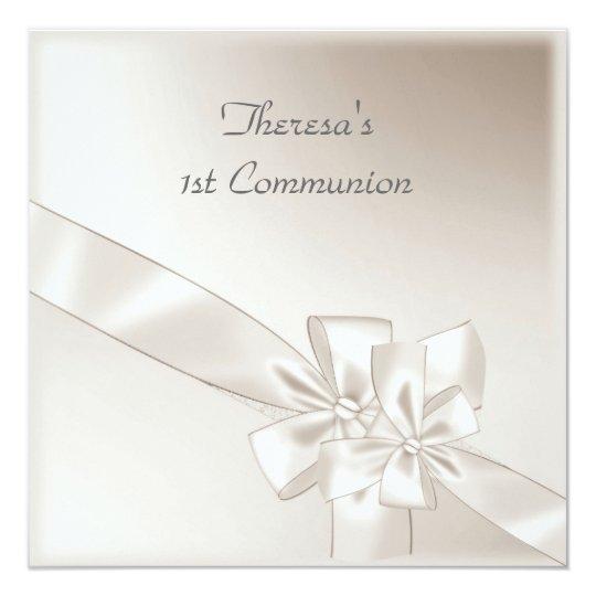 1st Communion Party Invitation