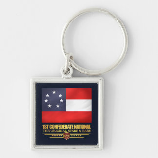 1st Confederate National Key Ring