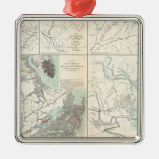 1st Corps Army of Virginia Secessionville Christmas Ornament