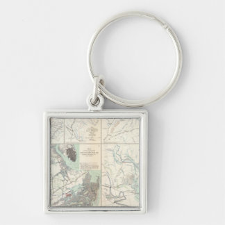 1st Corps Army of Virginia Secessionville Key Ring