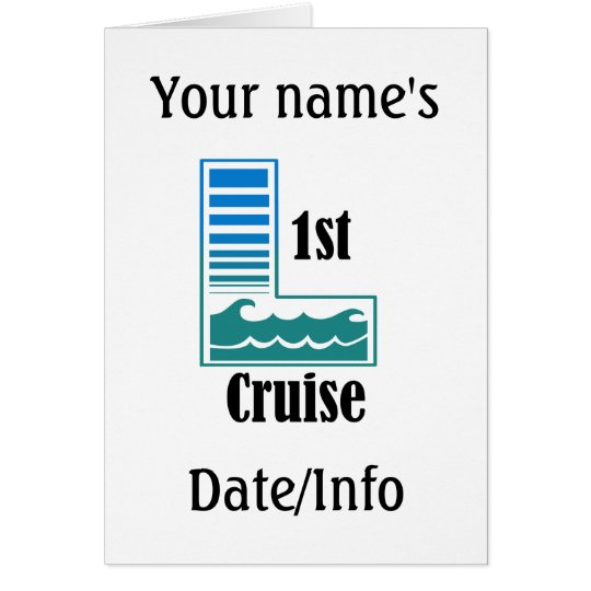 1st Cruise Card