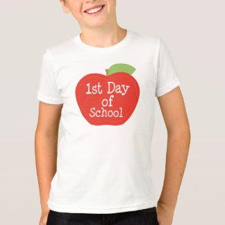 1st Day of School Apple T-Shirt