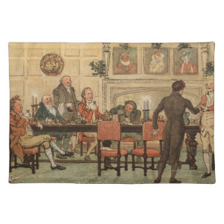 1st December 1810: Christmas at Marley Hall Placemat