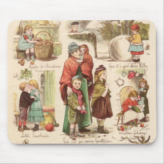 1st December 1879: A set of Christmas sketches Mouse Mat