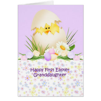 Granddaughter easter gifts t shirts art posters other gift 1st easter granddaughter card negle Choice Image