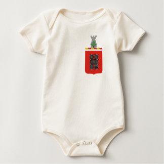 1st Field Artillery Regiment Coat of Arms Baby Bodysuit