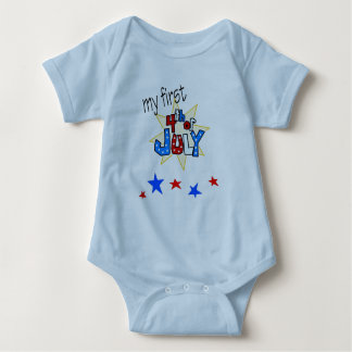 1st forth of july onsie baby bodysuit