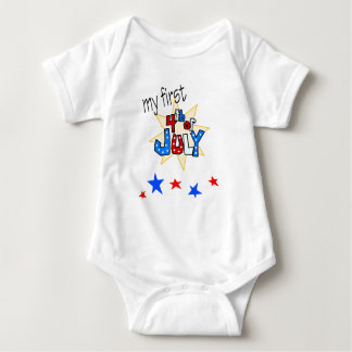 1st forth of july onsie t shirt
