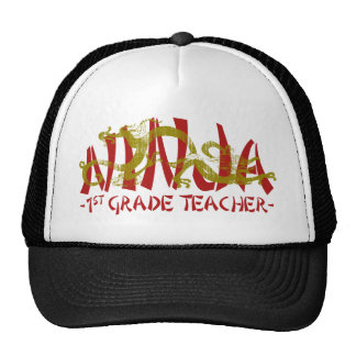 1st Grade Dragon Ninja Hat