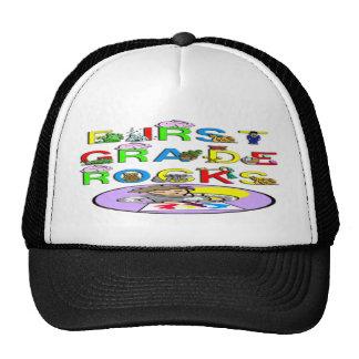 1st Grade Rocks Trucker Hat