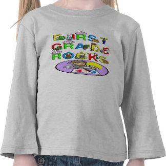 1st Grade Rocks Shirt